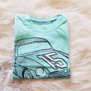 Carter's Little Boy Car T-Shirt in Teal